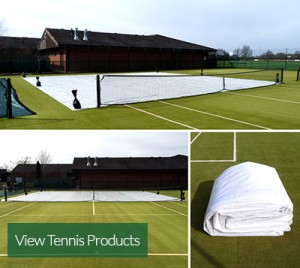 Using tennis court covers protects and preserves all types of court surfaces.